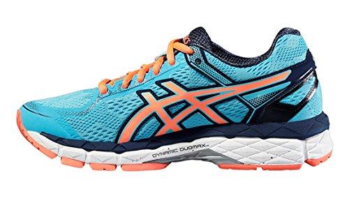 Asics Gel-surveyor 5 Womens Running Shoes (t6b9n) Acquario / Flash Corallo / Dark Navy