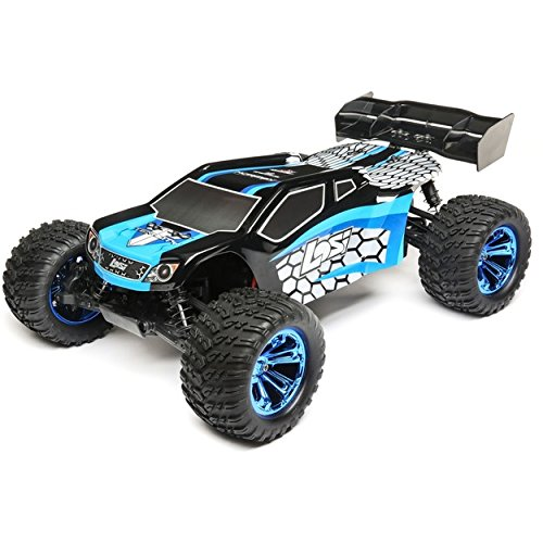 (Team Losi 1/10 Tenacity-T 4WD Truggy Brushless RTR with AVC,)