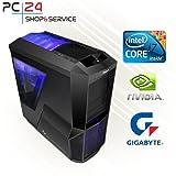 GAMING PC | PC24 GAMER PC | INTEL i7-6700K @4x4,20GHz Skylake | nVidia GF...