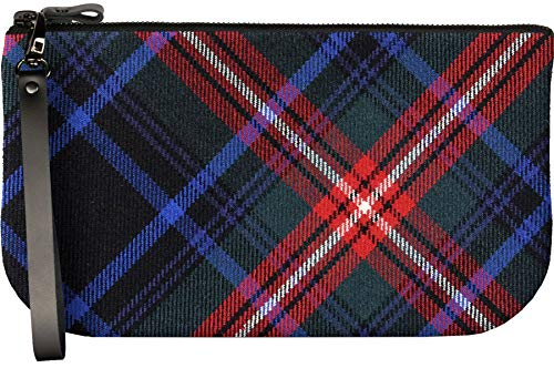 Bag Clutch Leather Mini to Large iPad Tartan Small with Fit Enough Braveheart E41xHfnqBn