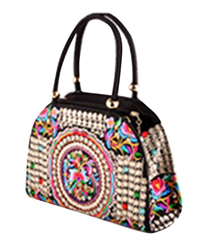 Tote Borsa Verde Butterfly Donna Drasawee Brown Pink 5BPSqntwxd