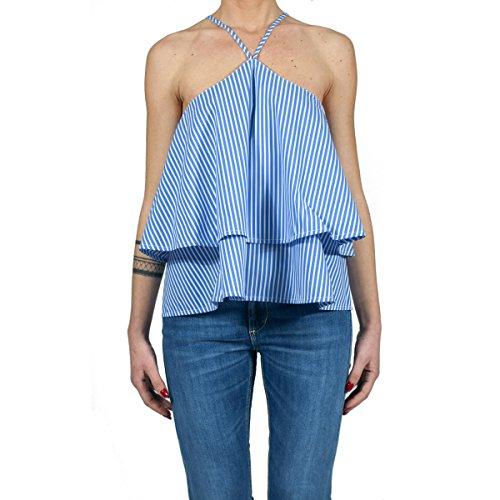 DONDUP - Camicia donna in cotone mod. ELEKTRA