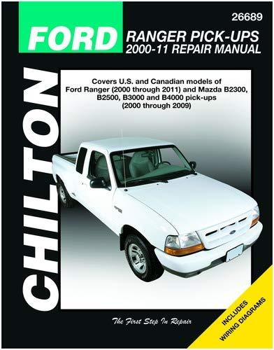 (Automotive Repair Manual for Ford Ranger Pick-Ups 2000-'11 (26689))