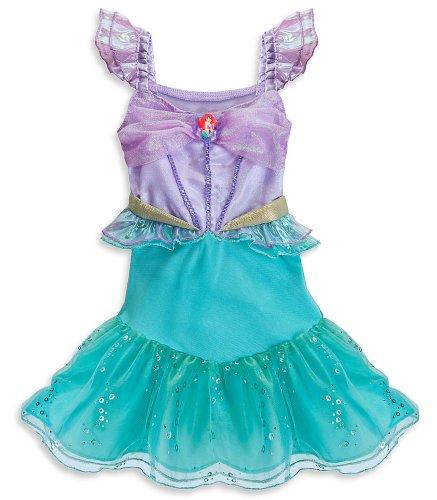 [Disney Store Princess Ariel Little Mermaid Halloween Costume Size 2T] (Ariel Blue Dress Costumes)