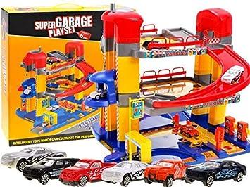 Voitures Étages Voiture 3 Garage Avec Bsd 6 Parking Jouet ul13TFK5Jc