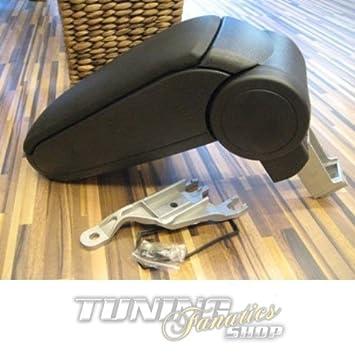 Mittelarmlehne Farbe: SCHWARZ Mittel-konsole Leder Fahrzeugspezifisch Mittel-Armlehne mit klappbarem staufach