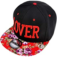 b6be0eecf3447 ZLYC Women Floral Tropical Print Neon Embroidered Word Snapback Baseball  Cap Hat