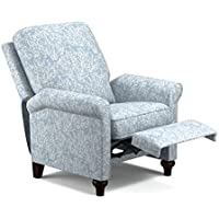 ProLounger Blue Coral Push Back Recliner Chair, Wrapped pocket coils for a custom sit