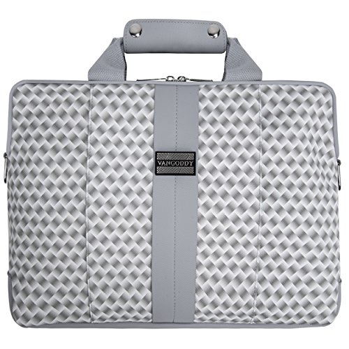 Modernized VanGoddy Woven Pearl Messenger Bag for Acer Aspire / Spin / Switch / ChromeBook / TravelMate / 11