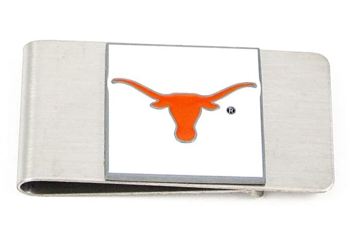 arrives 2b5d2 c37da Texas Longhorns Large Money Clip/Card Holder - NCAA College Athletics Fan  Shop Sports Team Merchandise