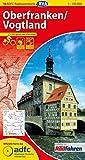 ADFC-Radtourenkarte 18 Oberfranken /Vogtland 1:150.000, reiß- und wetterfest, GPS-Tracks Download und Online-Begleitheft (ADFC-Radtourenkarte 1:150000)