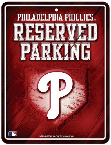 Philadelphia Phillies Parking - Philadelphia Phillies Metal Parking Sign