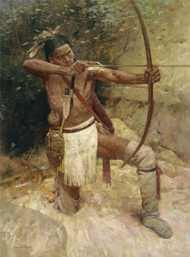 Woodland Warrior - Z. S. Liang - Western Art Limited Edition Canvas