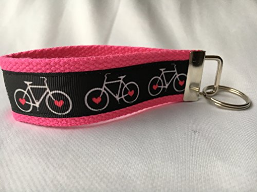 Biker Girl Keychain, Cycling Keychain, Spinning Gifts, Personalized Keychain, Custom Keychain