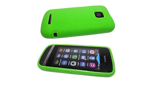 caseroxx funda tipo estuche para Nokia Asha 311 de cuero ...