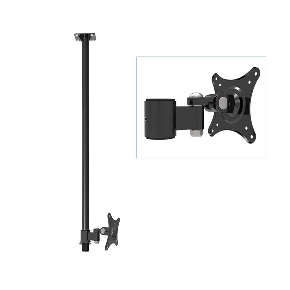 XUE-XYW Monitor Ceiling Mount Bracket, for 90-110mm Displays Ceiling Monitor Mount Meeting Room Video Call Home Bedroom Classroom