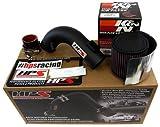 09-13 Toyota Matrix 2.4L HPS Short Ram Cool Air Intake Kit Wrinkle Black Shortram 10 11 12