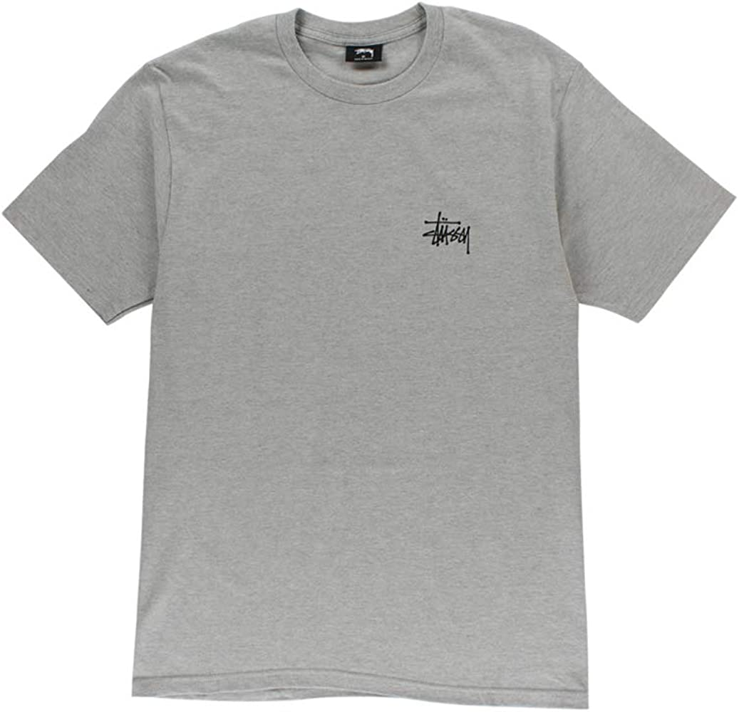 Stussy Camiseta STÜSSY Basic Tee Hombre Gris XL: Amazon.es: Ropa y accesorios