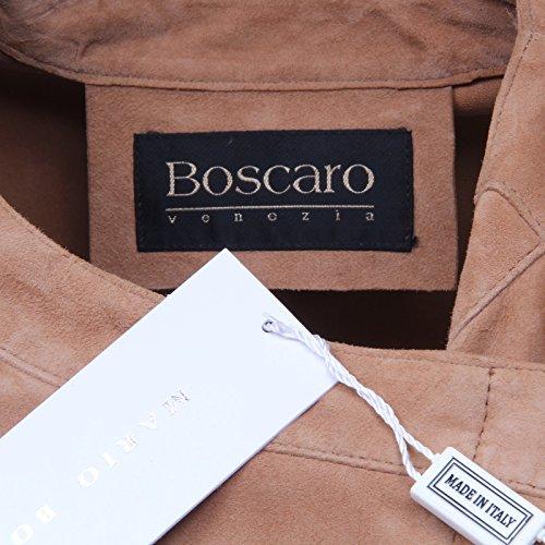 donna D5072 BOSCARO MARIO beige suede pelle Beige jacket woman giubbotto TTAqpwx5g