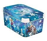 CURVER Stockholm 231574Decorative Box S–Snow Queen Decor 230x20x14cm Plastic Blue