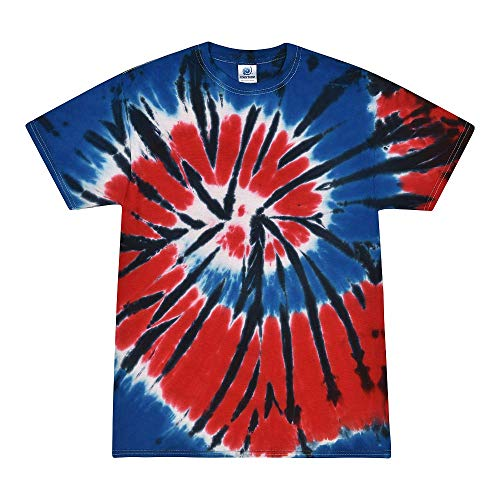 Colortone Tie Dye T-Shirt XL Independence