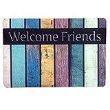 C&Q Doormat, Embroidered Entry Way Indoor Mat, Non-Slip Doormat Entrance Rug Floor Mats for Home Clean, Indoor/Outdoor/ Front Door/Kitchen/ Bathroom Mats£¬Bedroom Doormat