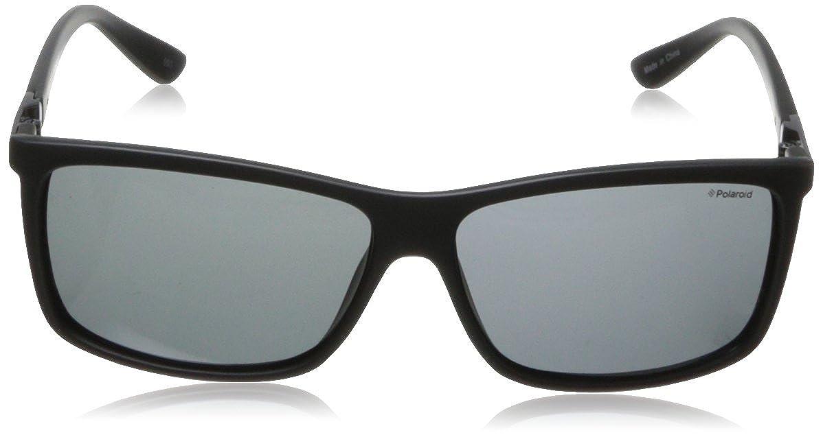 Amazon.com: Polaroid Sunglasses P8346S Polarized Rectangular Sunglasses,Black,59 mm: Polaroid: Clothing