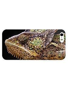 3d Full Wrap Case for iPhone 5/5s Animal Malagasy Giant Chameleon