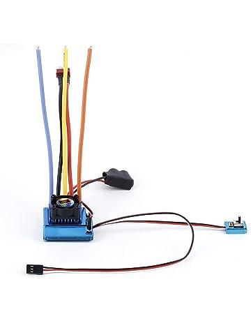 Funnyrunstore Professional 120A ESC Sensored Controlador de velocidad sin escobillas para 1/8 1/