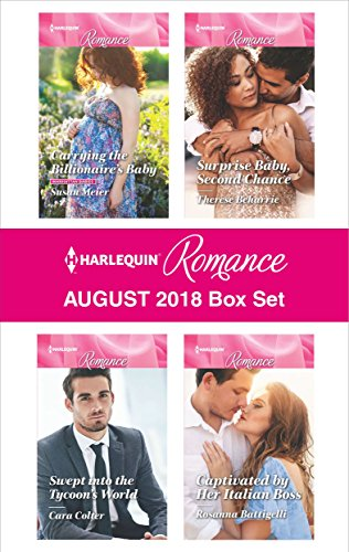 Harlequin Romance August 2018 Box Set Carrying The Billionaires