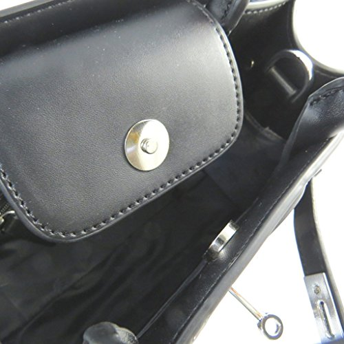 Bag designer Fiorellibianco nero - 26.5x24.5x12 cm.