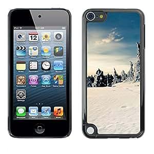For Apple iPod Touch 5 - Nature Beautiful Forrest Green 175 /Caja protectora de pl???¡¯????stico duro de la cubierta Dise???¡¯???¡Ào Slim Fit/ - Super Ma