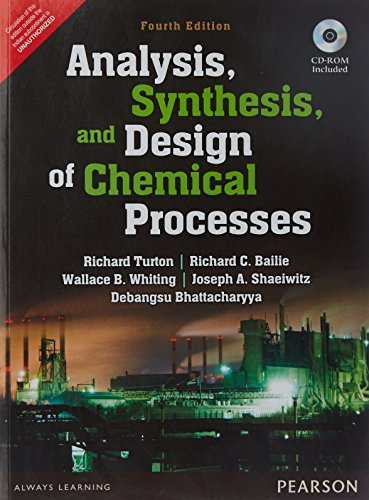 Analysis Synthesis and Design of Chemica