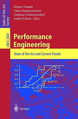 Performance Engineering: State of the Art and Current Trends (Lecture Notes in Computer Science) by Springer