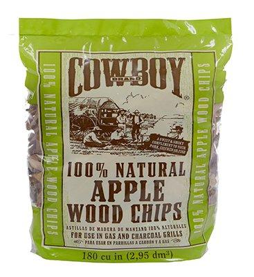 - Cowboy 180 Cubic Inch Apple Wood Chips