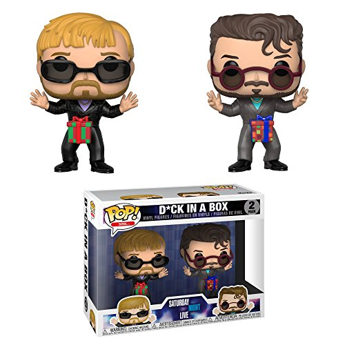 Funko-Pop-TV-Saturday-Night-Live-Dick-in-a-Box-2-Pack-2-Multicolor