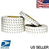 double sided tape non permanent - 1''inch x 55 Yards 3M Hi-Temp Double-sided Permanent Tape Adhesive #9080