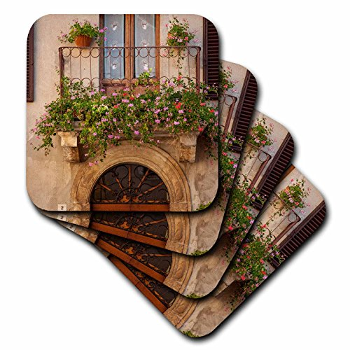 3dRose cst 208758 3 Flowers Tuscany Coasters