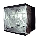 LEDwholesalers GYO1010 76-Inch x 76-Inch x 76-Inch Mylar Reflective Hydroponic Grow Tent Review