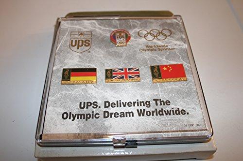 (UPS 1996 Atlanta Olympic Pins - Germany, Great Britain, China)