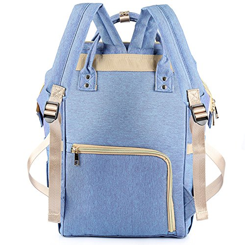 Diaper Bag Multi-Function Waterproof Travel Backpack Nappy Bags for Baby Care, Large Capacity, Stylish and Durable, Yookeyo by Yookeyo (Image #3)