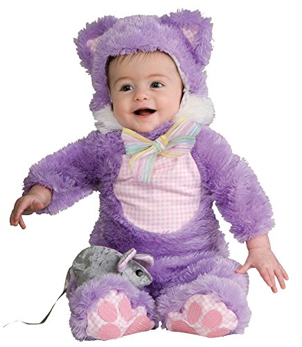[UHC Baby's Kuddly Kitty Cat Outfit Infant Toddler Fancy Dress Halloween Costume, 12-18M] (Kitty Newborn Baby Costumes)