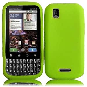 Compatible with Motorola XPRT MB612 Silicone Skin Cover - Neon Green