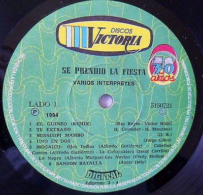 VARIOS INTERPRETES-SE PRENDIO LA FIESTA - VARIOS INTERPRETES-SE PRENDIO LA FIESTA - Amazon.com Music