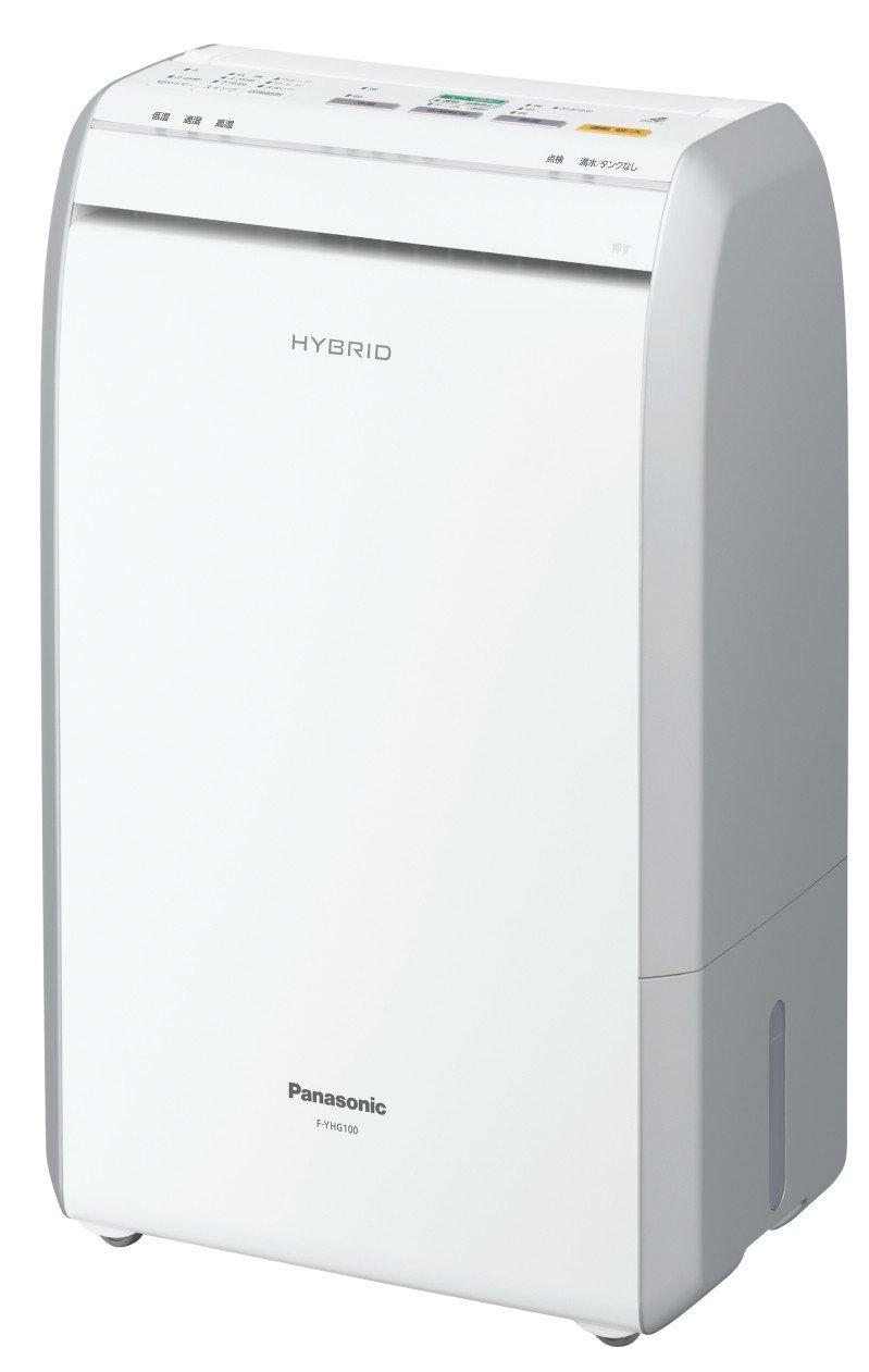 パナソニック ハイブリッド方式除湿乾燥機 ホワイト F-YHG100-W B004PXJ6US
