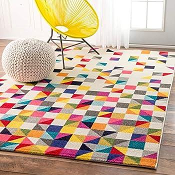 Amazon Com Ikea Tastrup Multicolor Button Rug Kitchen