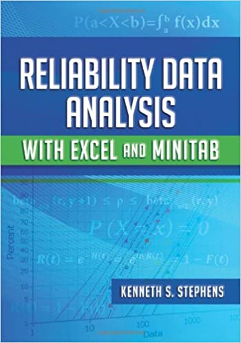 AmazonCom Reliability Data Analysis With Excel And Minitab