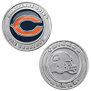 Officially Licensed NFL Challenge Coin Poker Card Cover - Comes with Free Cut Card!