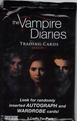 The Vampire Diaries Season 1 Trading Cards Booster Pack by Cryptozoic - 1 Booster Season