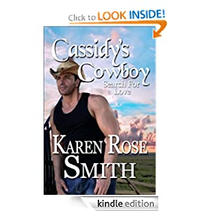 Cassidy's Cowboy (Search For Love) Karen Rose Smith